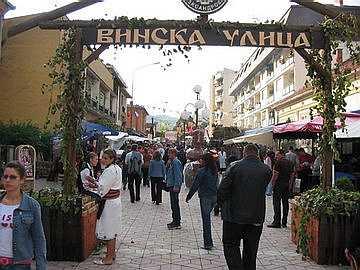 Винска улица детаљ са Жупске Бербе